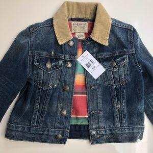 Ralph Lauren denim Jacket 2yo NWT